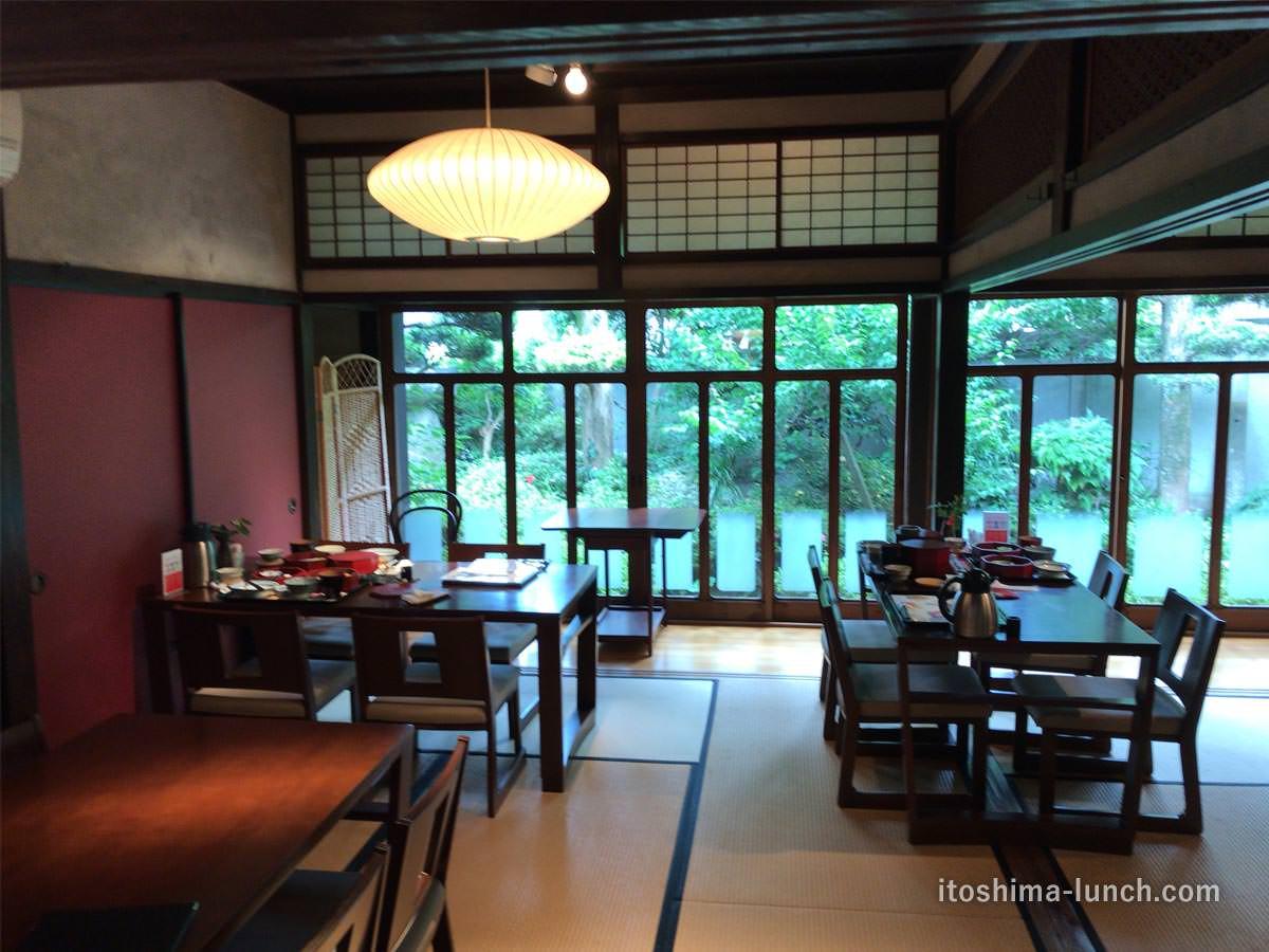 写真:伊都安蔵里 レストランお座敷席