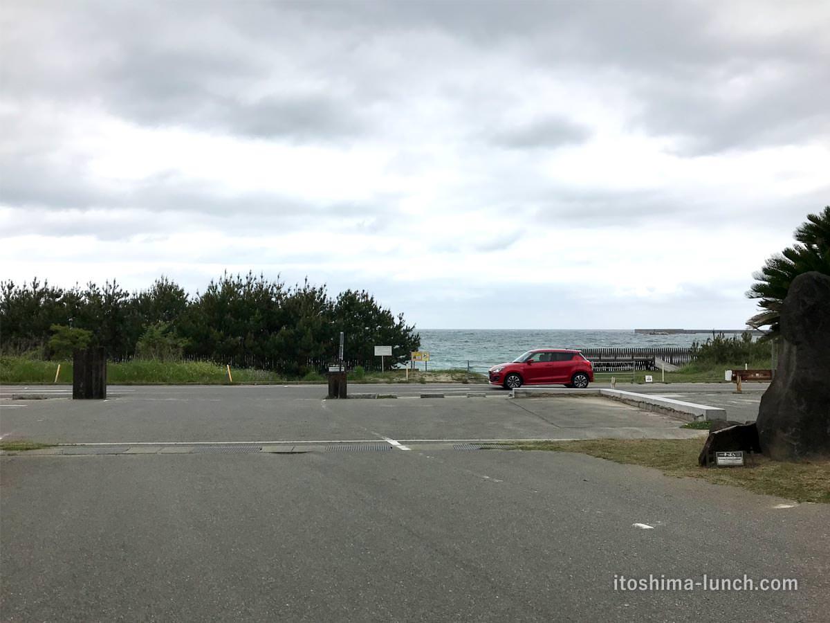写真:福岡糸島 御飯屋おはな 駐車場