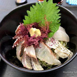 「志摩の四季 志摩の海鮮丼屋」オール糸島食材! 究極の地産地消の海鮮丼!